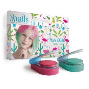 hair chalk for kids flamingo colour