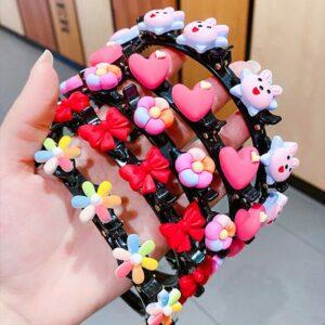 Cute set of flower hair band for girls