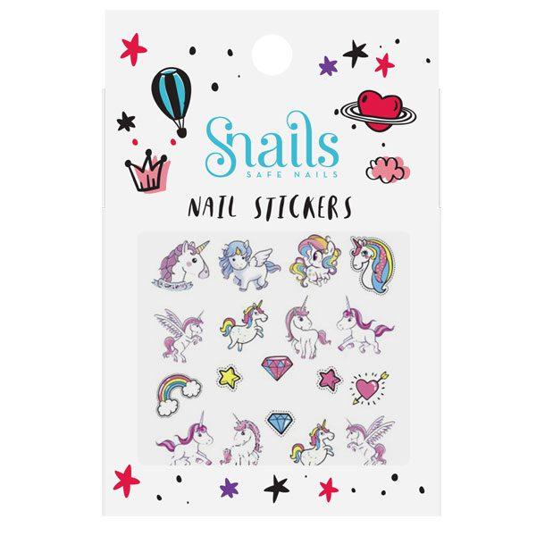 nail stickers - unicorn